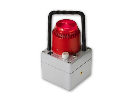 Dose rate alarm lamp GWL