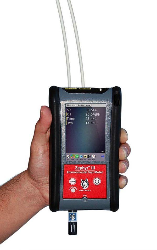 Zephyr III Digital Micromanometer